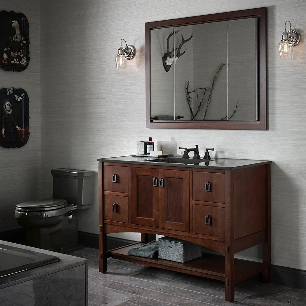 marabou vanities exude craftsman charm for a timeless look that is a truly classic american design - Kohler Vanities