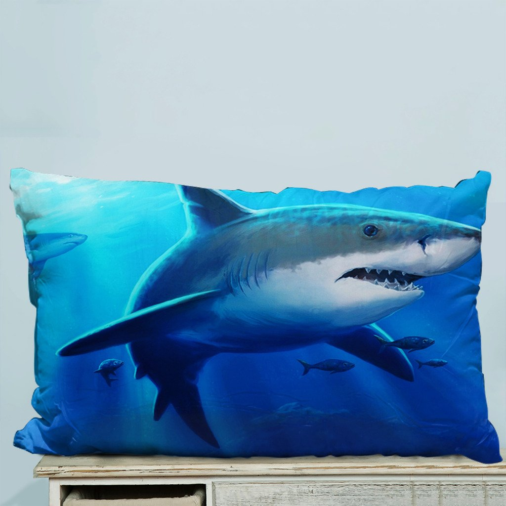 Adorable Pillow Cases Cushion Cover Bass Fish Pillowslip 18x18 inches Twin-Sides Print
