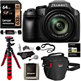 Panasonic FZ80 Lumix 4K Long Zoom Camera, 18.1 MP, F2.8-5.9, Power O.I.S with 3