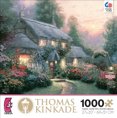 Ceaco Thomas Kinkade Julianne's Cottage Jigsaw Puzzle