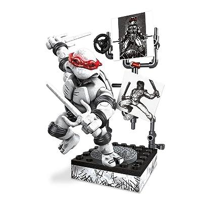 Mega Bloks Teenage Mutant Ninja Turtles - Raphael Eastman & Laird Collector's Figure by Mega Brands: Toys & Games