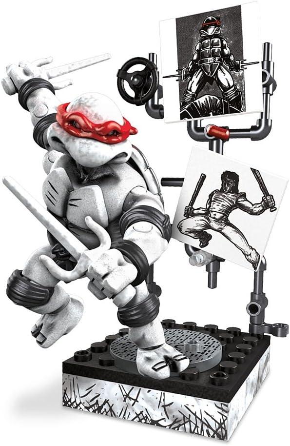 Mega Bloks Teenage Mutant Ninja Turtles - Raphael Eastman & Laird Collector's Figure by Mega Brands