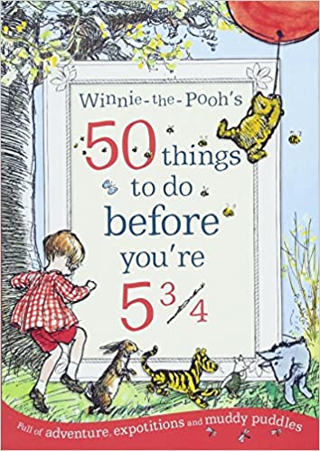 50 Things to Do before you're 5 3/4