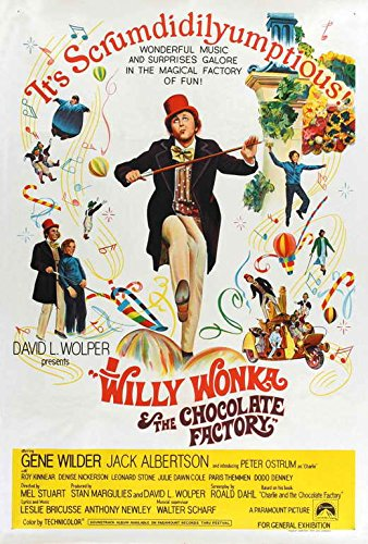 Willy Wonka and the Chocolate Mill POSTER Movie (1971) Australian Style A 27 x 40 Inches - 69cm x 102cm (Gene Wilder)(Jack Albertson)(Denise Nickerson)(Peter Ostrum)(Roy Kinnear)(Aubrey Woods)(Michael Bollner)