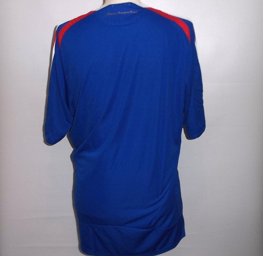adidas Francia FFF Home Camiseta, Blue/Red, Infantil, 620107, Azul/Rojo, 164: Amazon.es: Deportes y aire libre