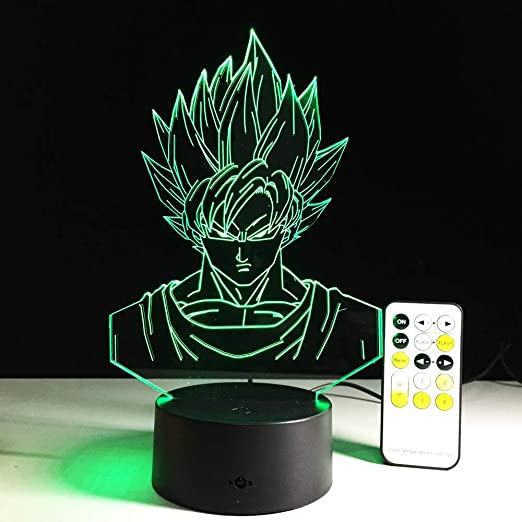MJY Dibujos animados Anime Dragon Ball Luz visual Usb Luces ...
