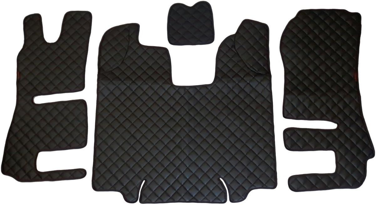 motore Cover Beige similpelle per Scania R automatico 2014/ /2016/guida a sinistra modelli solo Set di 4/Tappetini