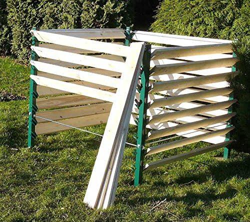 Jardín compostador 1300L termocompostador (Compost Contenedor compostador: Amazon.es: Jardín