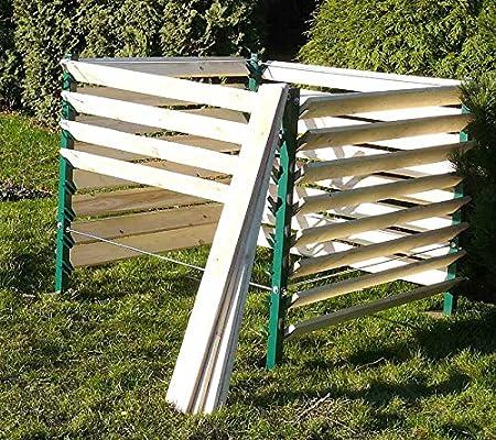 Garten Komposter 1300l Thermokomposter Kompostbehalter Kompostsilo Amazon De Garten