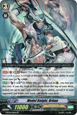 Cardfight!! Vanguard TCG - Model Knight, Orhan (G-BT06/011EN) - G Booster Set 6: Transcension of Blade and - Model Vanguard