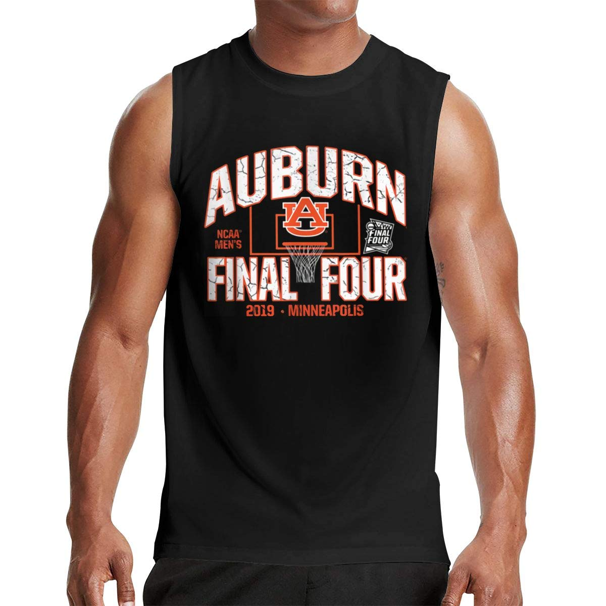 Thomlarryca Auburn Final Four Minneapolis 2019 S Gym Muscle T Shirt Classic Athletic S