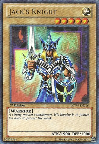 YU-GI-OH! - Jack39;s Knight (LCYW-EN016) - Legendary Collection 3: Yugi's World - Unlimited Edition - Ultra Rare