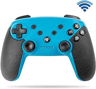 YiYunTE Mando Pro para Switch Controller Inalámbrico Pro para Switch Lite Controlador Bluetooth Batería Recargable 600mAh Gamepad Apoya NFC Vibración Turbo para Switch/Switch Lite: Amazon.es: Electrónica