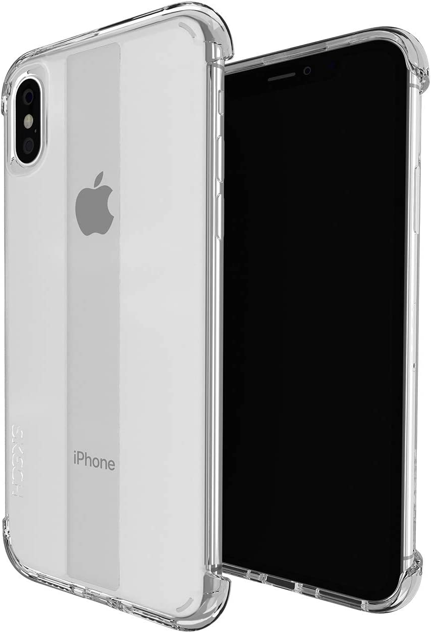 Skech Stark Minimal Naked Shockproof Protective Case for Apple iPhone Xs Max - Clear