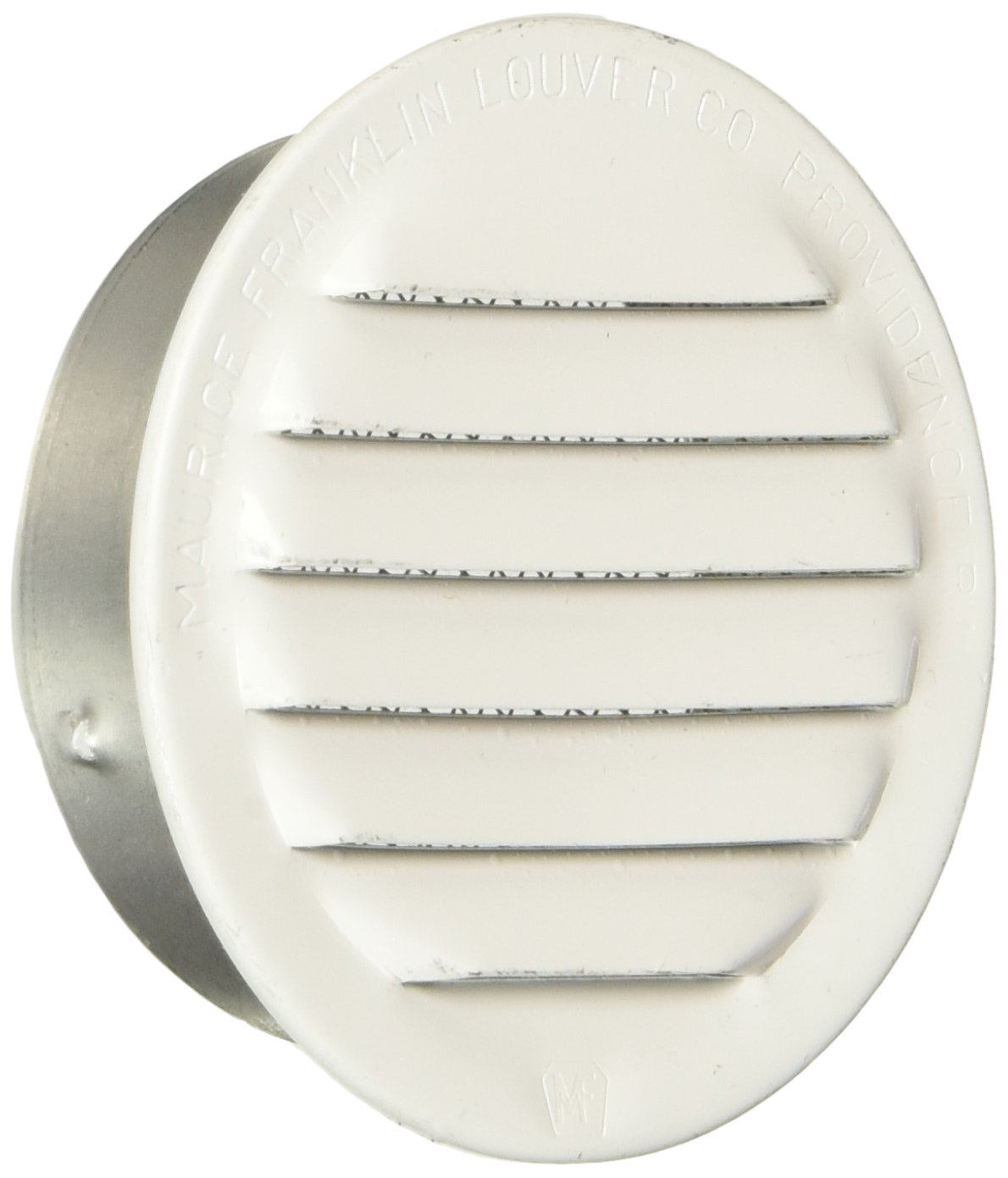 MAURICE FRANKLIN LOUVER RLW-100 2 White Mini Louver (6 Pack), 2''