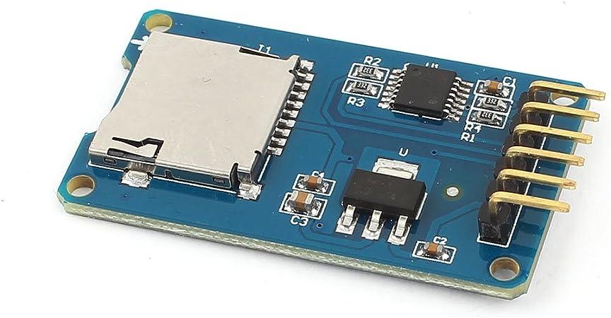 IIVVERR Micro SD Storage Board TF Card Shield Module SPI ...