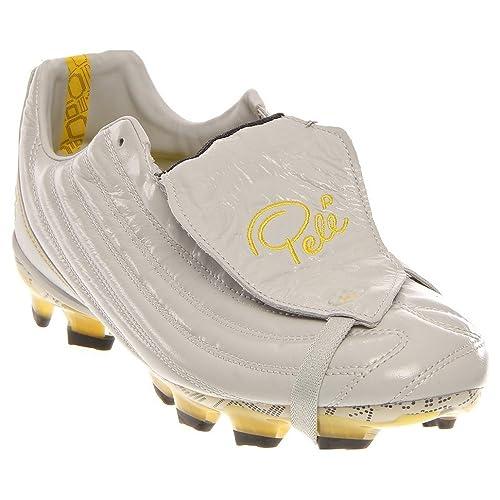 caa215514 Pele Sport Men s Football Boots Grey Lunar Rock Tour Yellow   Black   Amazon.co.uk  Shoes   Bags