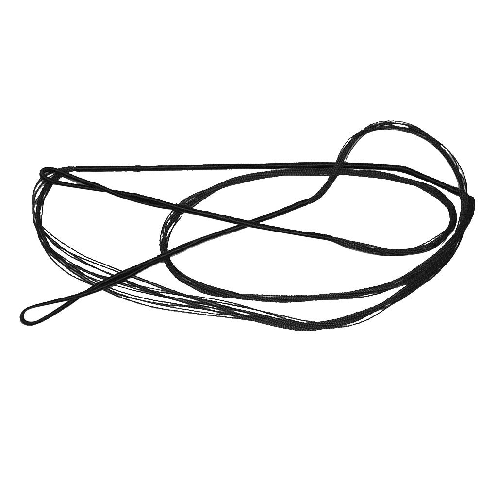 Plusieurs Tailles CUTICATE Archery Bowstring Bow String Black pour Arc Long Classique /à Arc Recourb/é