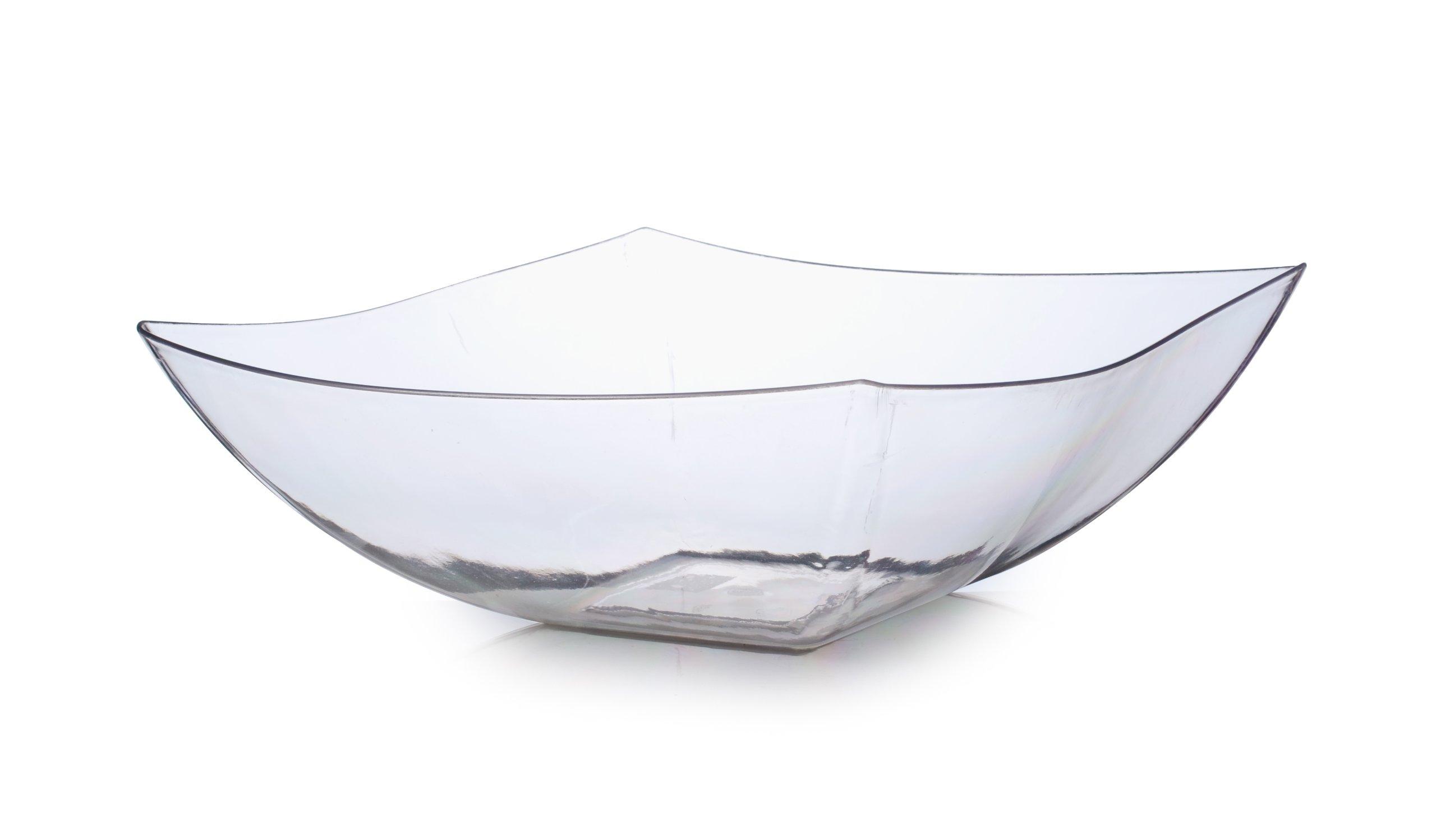 Fineline 64 oz Serving Bowl (Case of 50), Clear