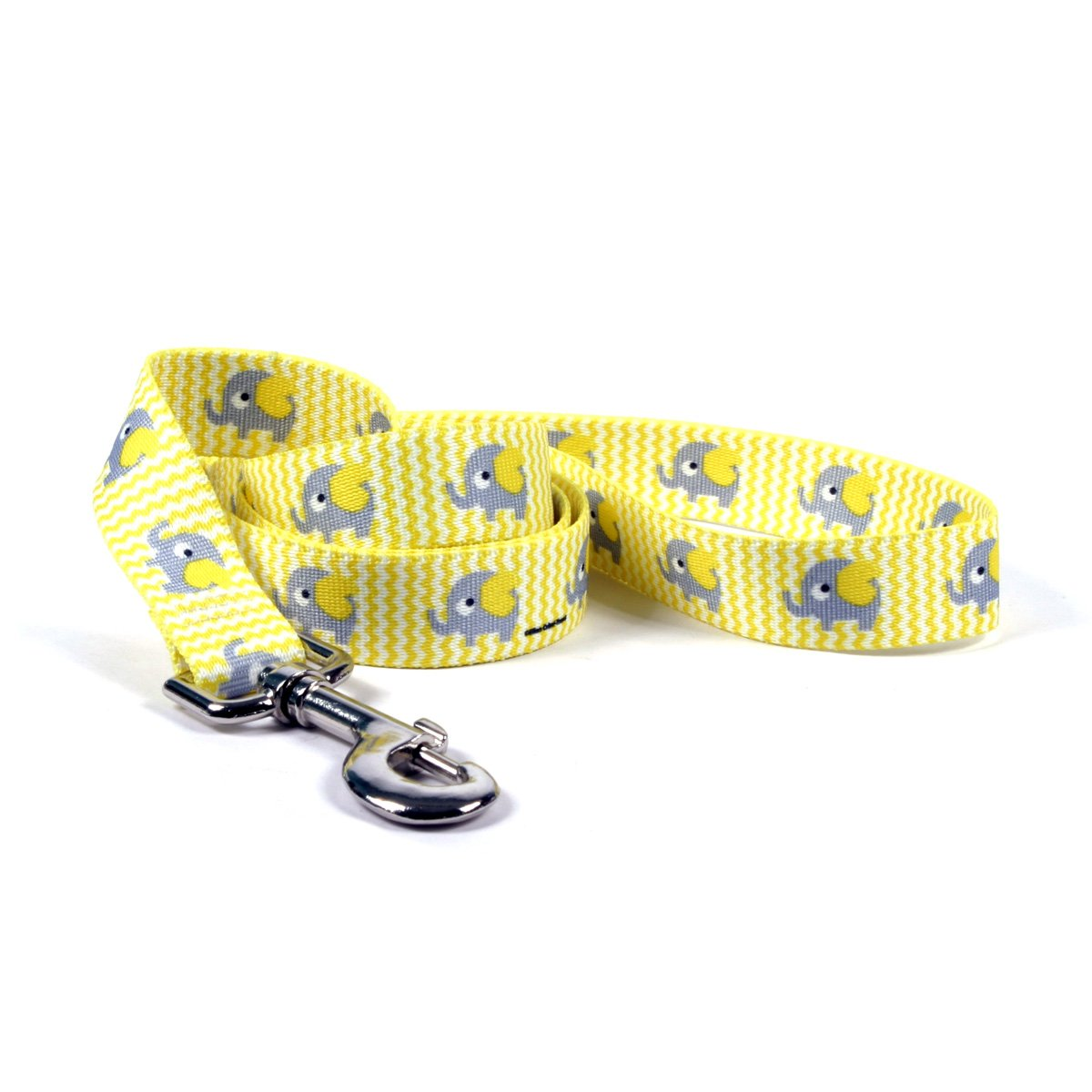 Yellow Elephant Standard Designer Dog Leash