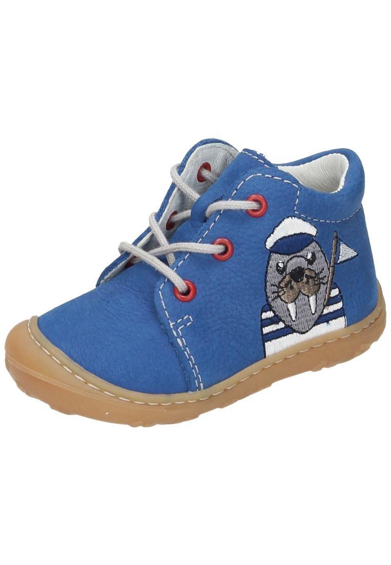 Ricosta Boys' Wally Derbys, Blue (Azur 157), 3 UK