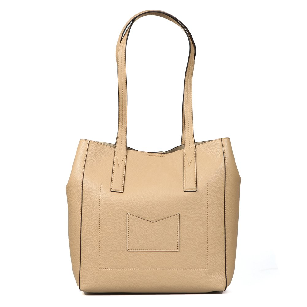 6190abf5c020 Michael Kors - Junie Mid Tote, Butternut, OS: Amazon.co.uk: Clothing
