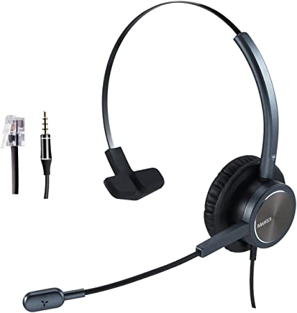 Mairdi Telefon Headset Mit Noise Cancelling Mikrofon Elektronik