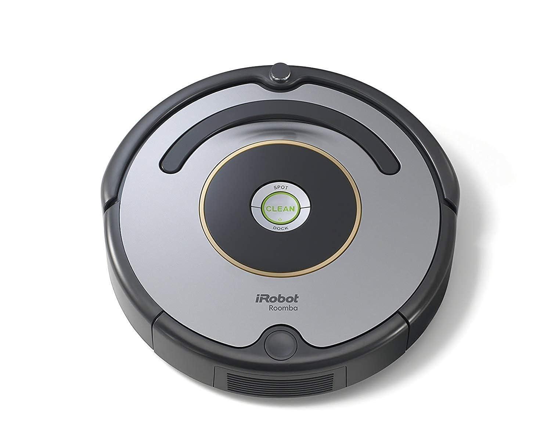 iRobot - Set con Roomba 615 Robot Aspirador para Suelos Duros y Alfombra, Tecnología Dirt Detect + Braava Jet 240 Robot Fregasuelos, 3 Modos de Limpieza, ...