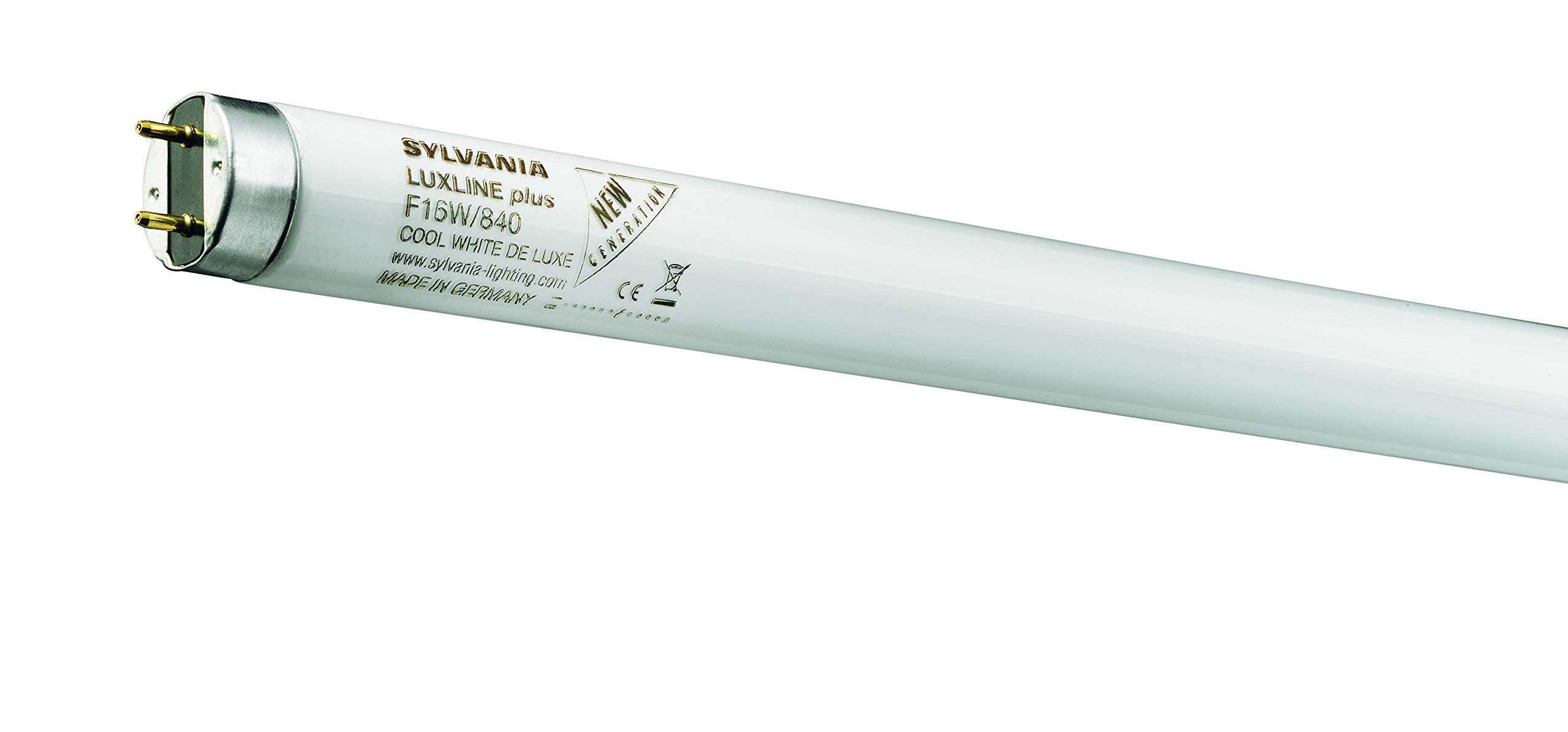Sylvania F16w-29 T8 Fluorescent Tube 29inch 16W-Colour Cool White-840, G13, 16 W, White