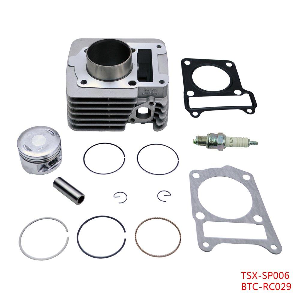 Cylinder Piston Rings Top End Set Kit Fits Yamaha TTR 125 TTR125 TTR-125 2000 2001 2002 2003 2004 FLYPIG