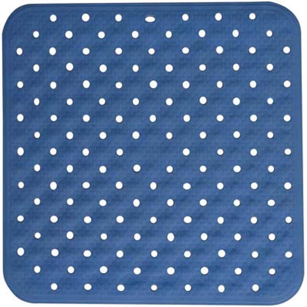 TAPPETINO ANTISCIVOLO DOCCIA Tappeto Quadrato 54x54 Mod KINO Antimuffa Bianco METAFORM