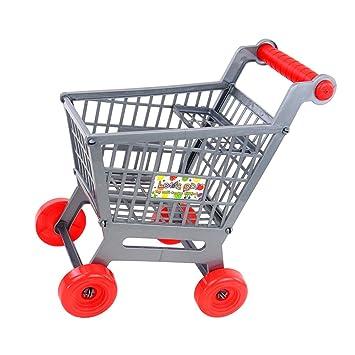 Amazon.es: MagiDeal Carrito Carro de Compras de Supermercado en Miniatura Juguetes Juego de rol para Niños: Juguetes y juegos