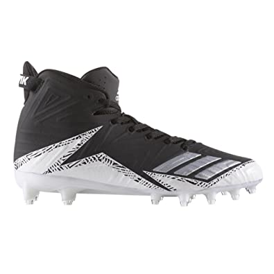d9f2a3648 adidas Men s Freak X Carbon Mid Football Black Silver White 8 D US D