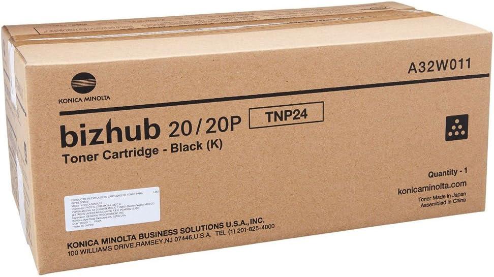 1-TNP24 SD BLACK TONER KONICA OEM TONER FOR BIZHUB 20P A32W011