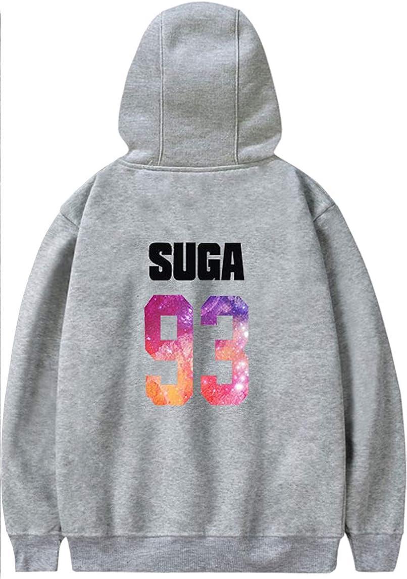 Pandolah BTS Unisex Hoodie DNA Printed Bangtan Boys Sweatshirt JIN V J-Hope