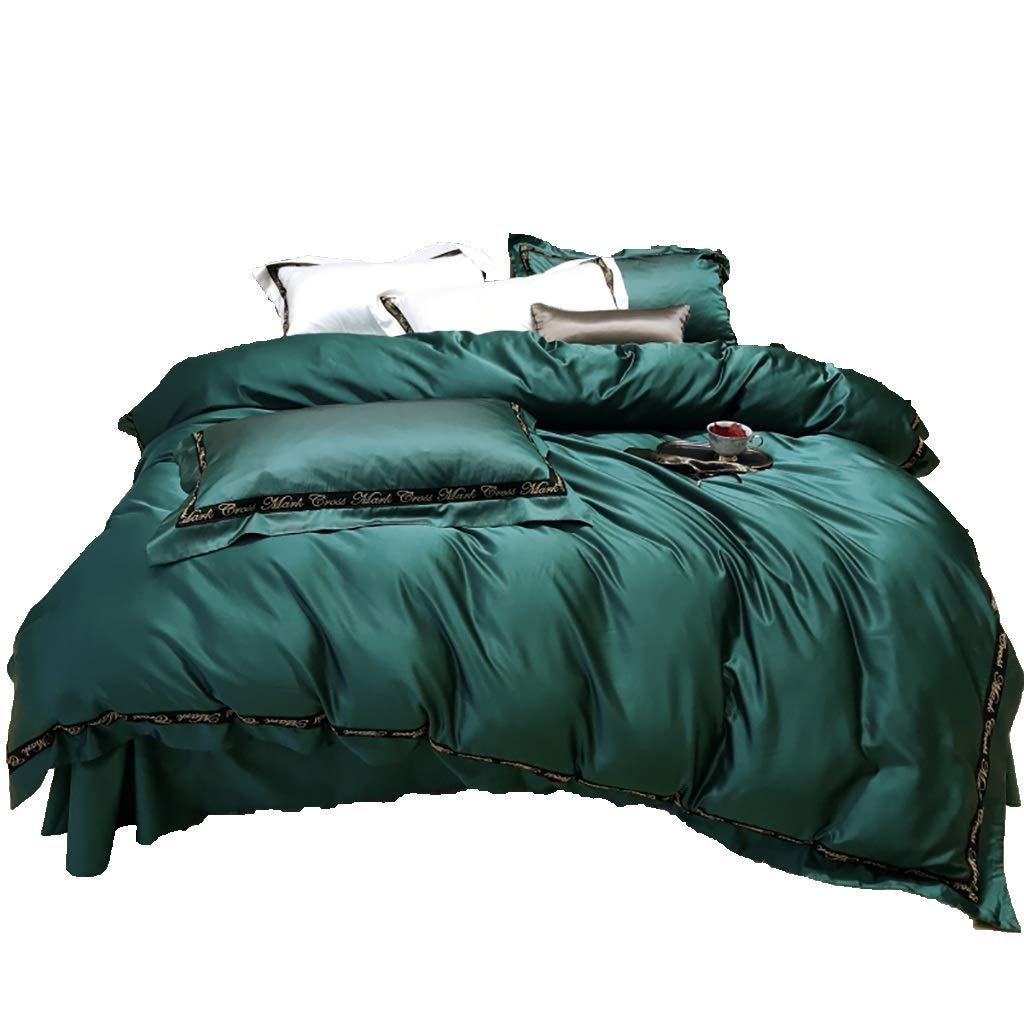 寝具カバーセット 4枚セットベッドの上シーツカバー枕カバークッションカバー布団カバーギフトベッドセット寝具ホテルファミリー暖かく保つ (色 : A1, サイズ さいず : 2M/2.2M bed) B07P2H39F8 A3 2M/2.2M bed 2M/2.2M bed|A3