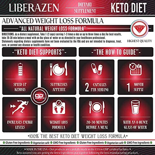 Keto Diet Pills - Instant Exogenous Ketones for Fuel and Natural Burn and Fat Loss Blast - Advanced Weight Loss Pure Keto Supplements for Fast Ketosis - 60 Capsules 8