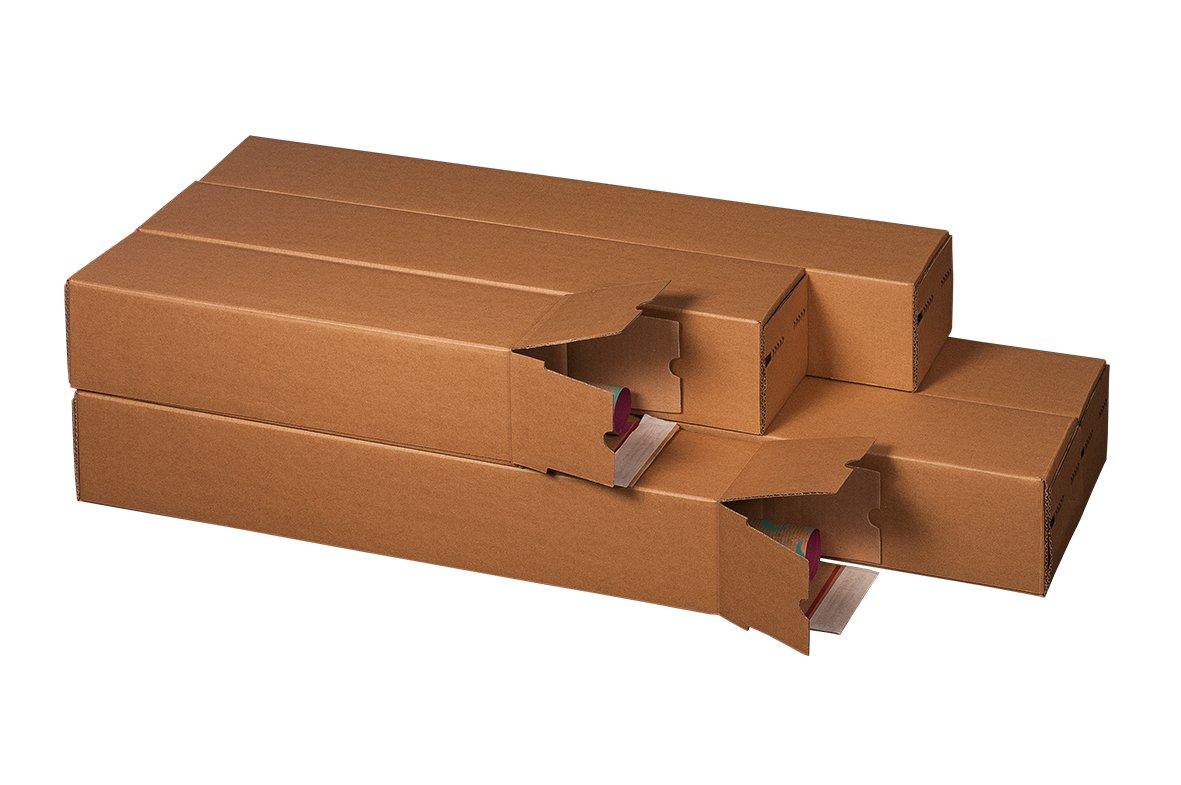 Versandh/ülse Versandrohr Posterverpackung A2 435x105x105mm 20St/ück