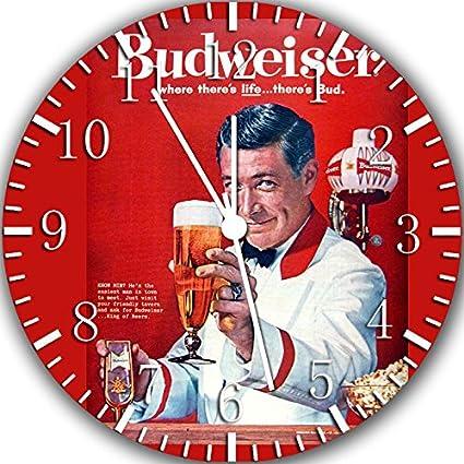 Borderless Classic Beer Frameless Wall Clock