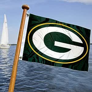 Wincraft Verde Bay Packers Bandera de Barco y Carro de Golf: Amazon.es: Deportes y aire libre