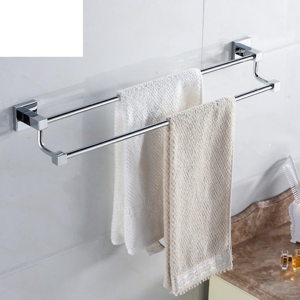 70%OFF Brass double Towel Bar/towel rack/Square Towel rack-A