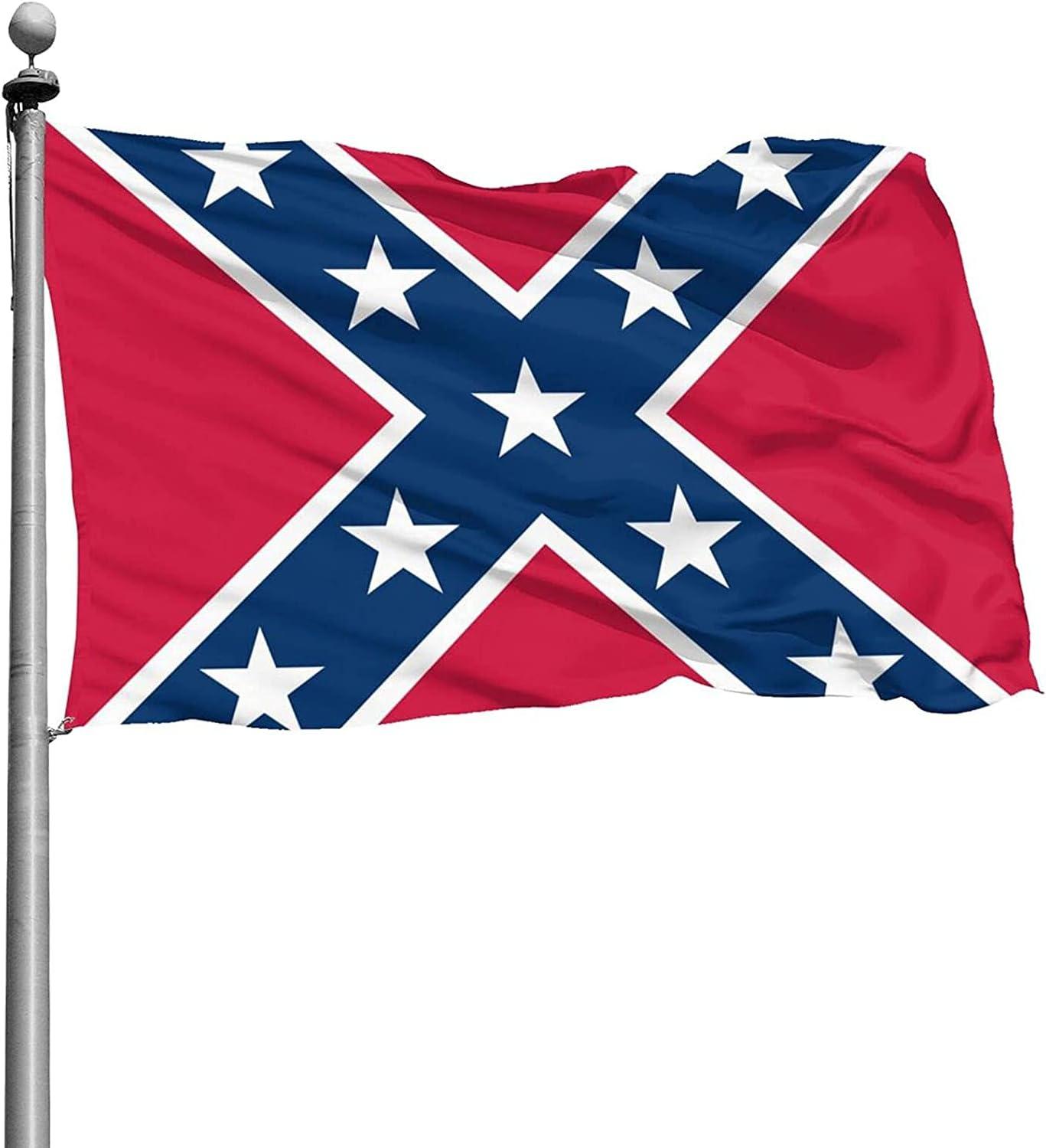 Old CSA Southern States Flag Flag for Outdoor Indoor Home House Decor Durable Garden Flag Custom