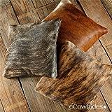 Brindle Cowhide Pillow Cow Hide Skin