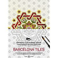 Barcelona Tiles: Artist's Colouring Book (Multilingual Edition) (Artists' Colouring...