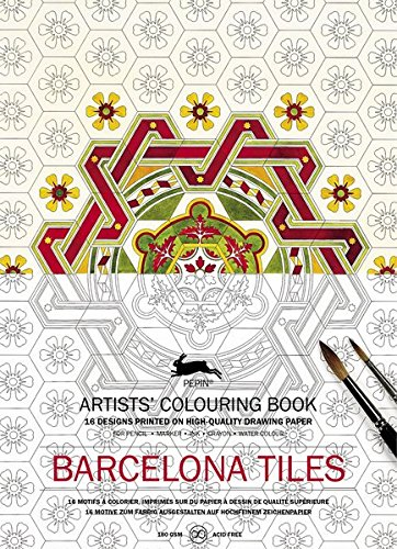 (Pepin Press Pepin Press Barcelona Tiles: Artists' Colouring Book (98178 ) (Artists' Colouring Books))