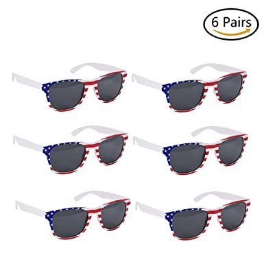 Patriotic Shutter Shading Glasses...fun for 4th of July party