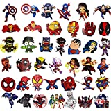 Laptop Stickers(100pcs),Superheros Computer Stickers for Water Bottles,Vinyl Stickers for Laptop Skateboard Luggage Decal Graffiti Patches Stickers in Bulk