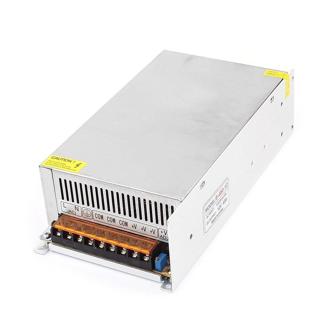 AC110V / 220V a 12V CC Interruptor 40A 480W fuente de alimentación del LED para la luz DealMux