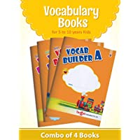 Blossom English Vocabulary Books for 5 to 10 Year Old Kids | Vocab Builder with Colourful Pictures and Activities for Children | Learn English Speaking and Writing | Set of 4 Books
