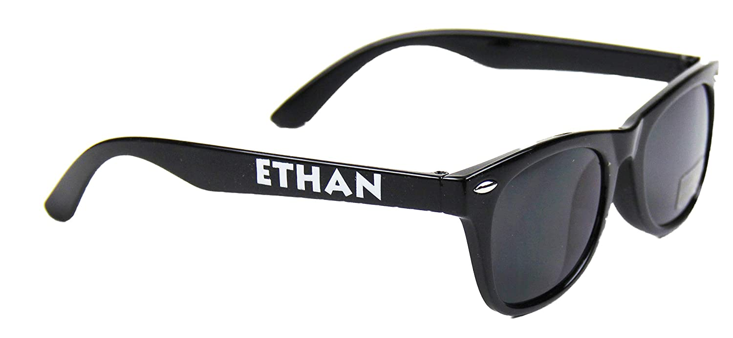 Boys Name His Sunglasses Personalized for Ethan Kids Ages 3-7